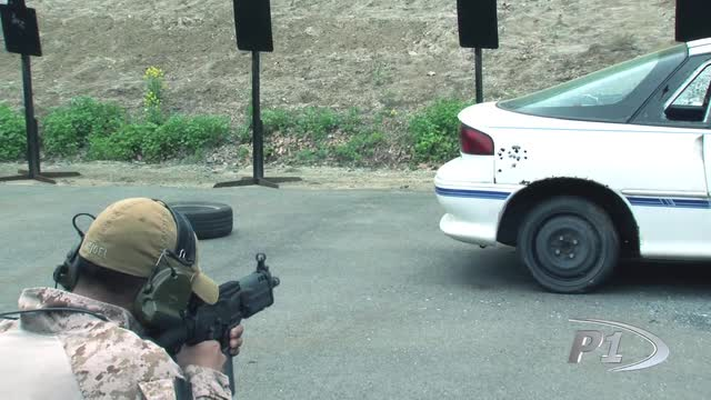 Bullets on Vehicles Training