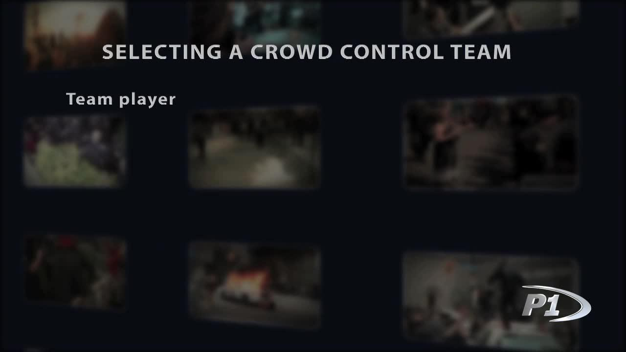 Crowd Control - Team Selection