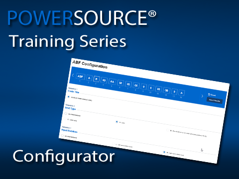 The PowerSource configurator helps make complex engineering easy.