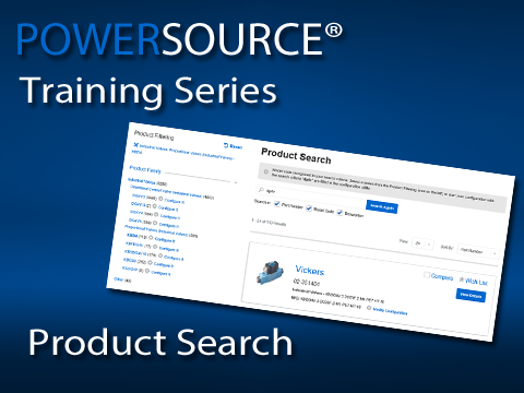 Learn how to find products in PowerSource whether you know the product number or not!