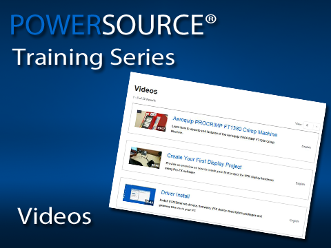 Find self-help, training and product videos in the PowerSource video library.