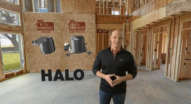 HALO E26 Series Housing with Chip Wade
