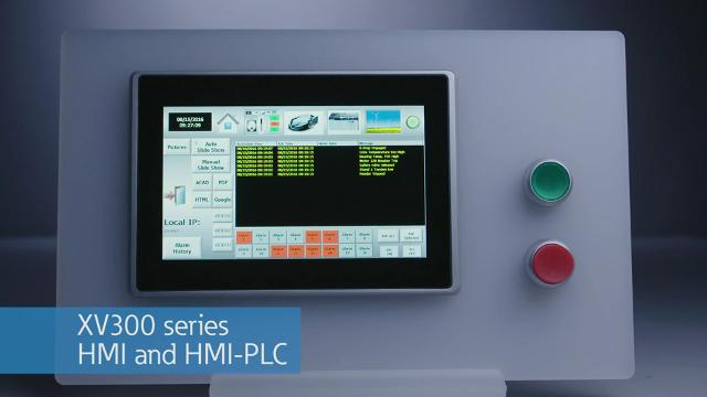 XV300 series HMI and HMI PLC Automation and control