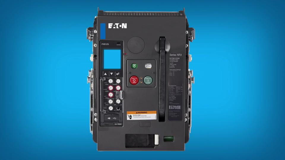 Low Voltage Air Circuit Breakers | Series NRX Insulated Case Circuit ...