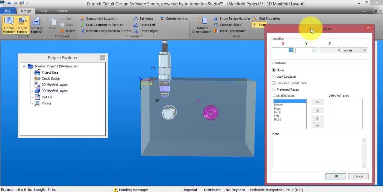 hydraulic circuit drawing software circuit and