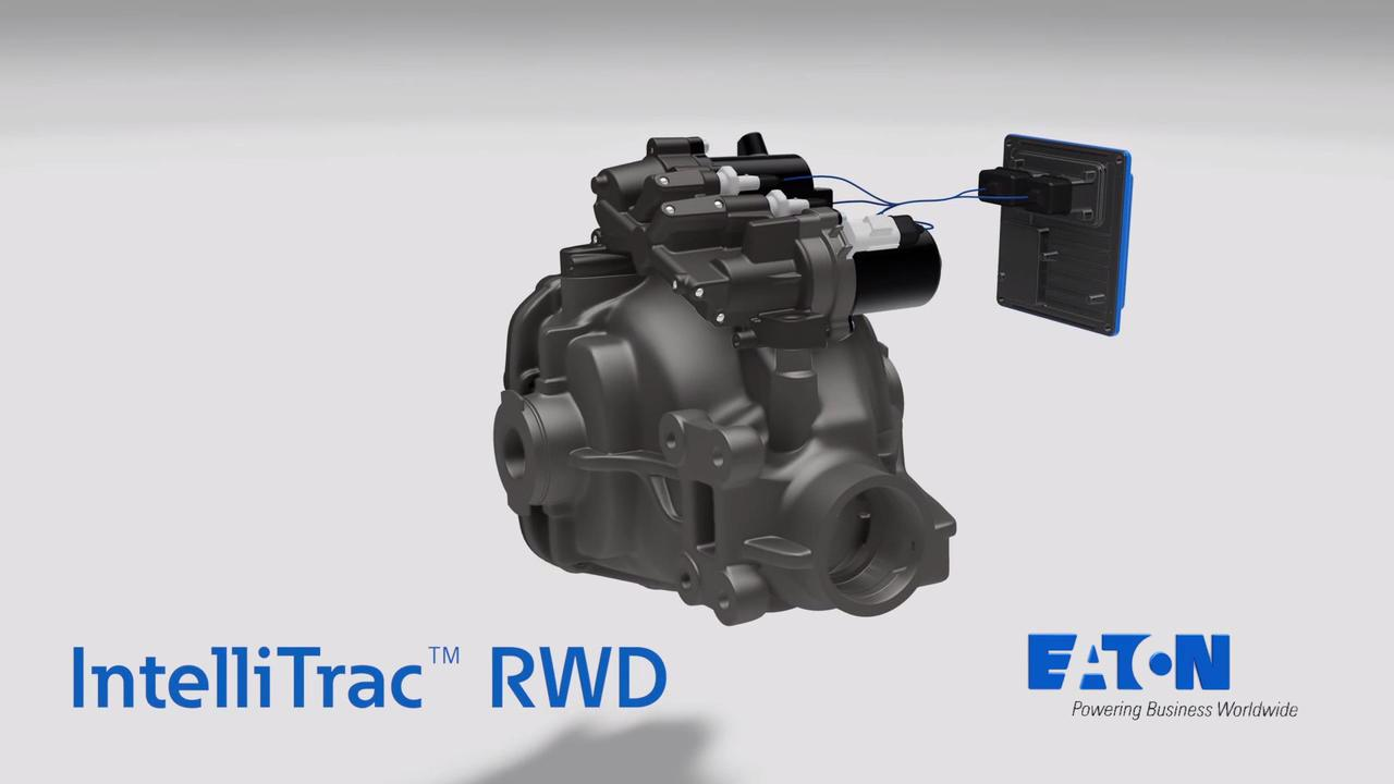 IntelliTrac electronic limited slip differential