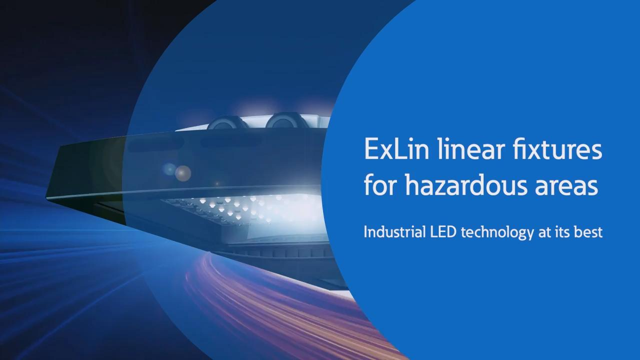 Exlin Led Linear For Zones 1 And 2 Hazardous Areas