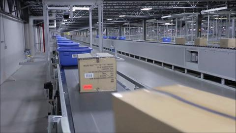 VARGO Companies Full Design Build of American Eagle Outfitters Hazle Township Omni-Channal Fulfillment Center Featuring a Waveless Warehouse Execution System, COFE