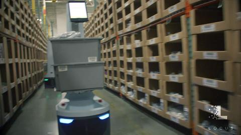 Locus Robotics - Transforming your productivity without transforming your warehouse.