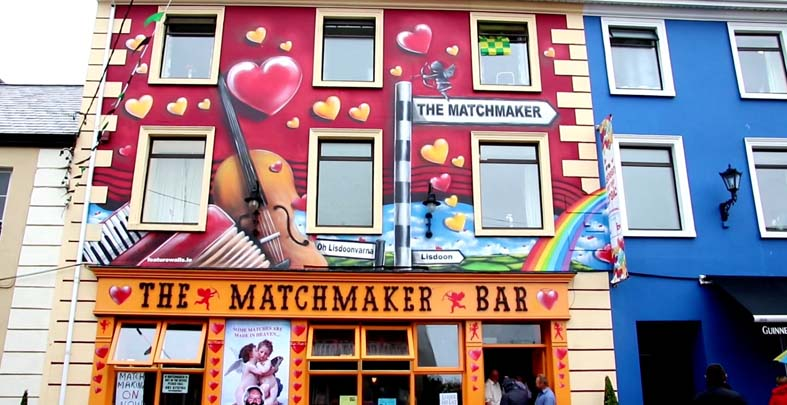 from Alvaro is there a matchmaking festival in ireland