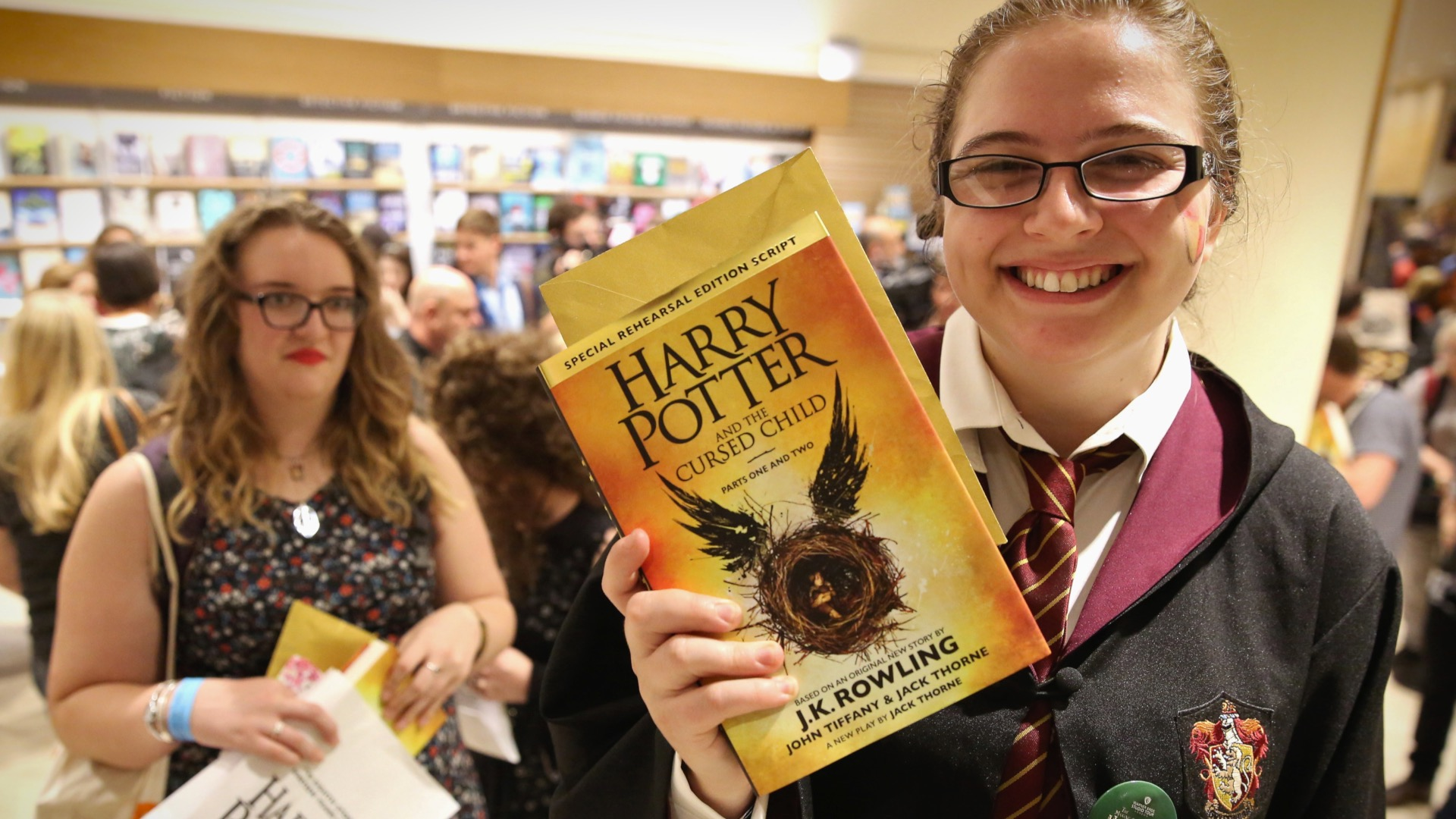 Pottermania: eager Harry Potter fans snap up Cursed Child at midnight