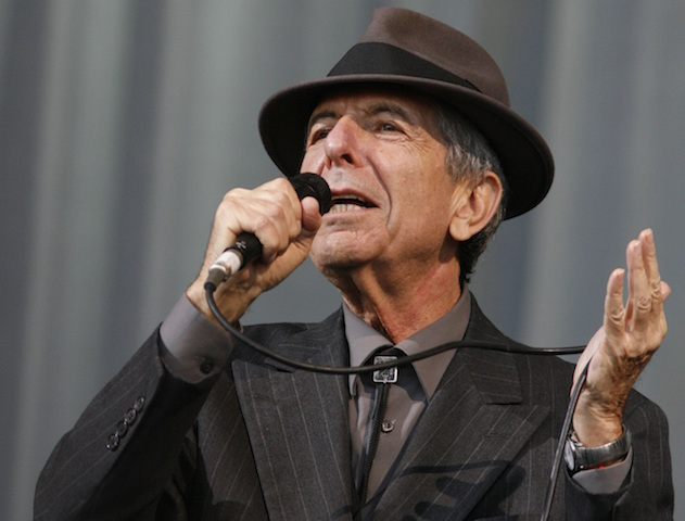 Leonard Cohen Hes Our Man