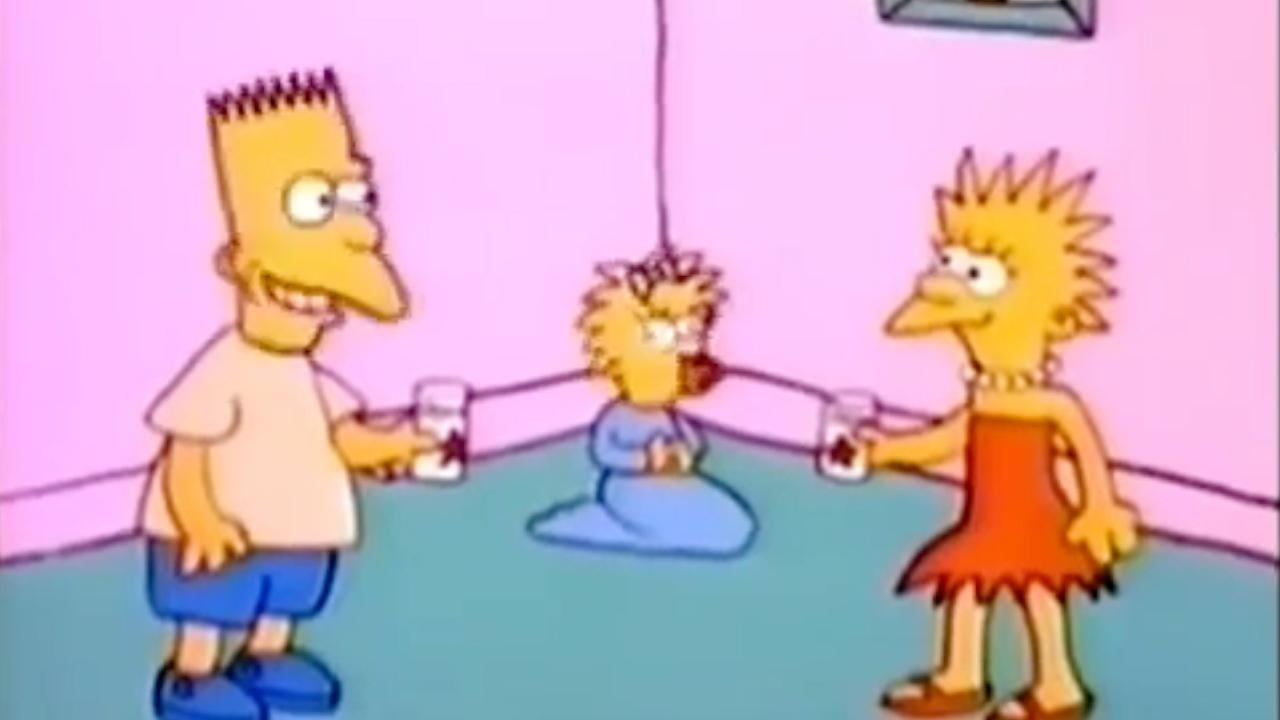 The Simpsons on The Tracey Ullman Show