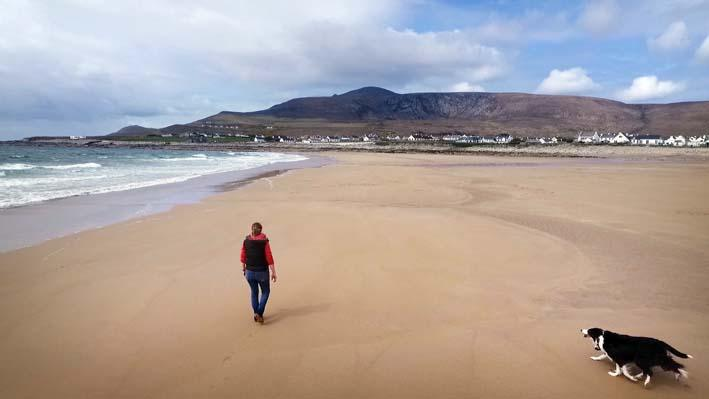 Sands Of Time Return Achill Beach 30 Years After It Washed Away