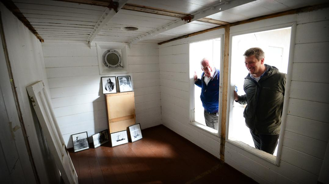 c46ce7cdaa Shackleton's sea-bedroom was little more than a glorified packing case