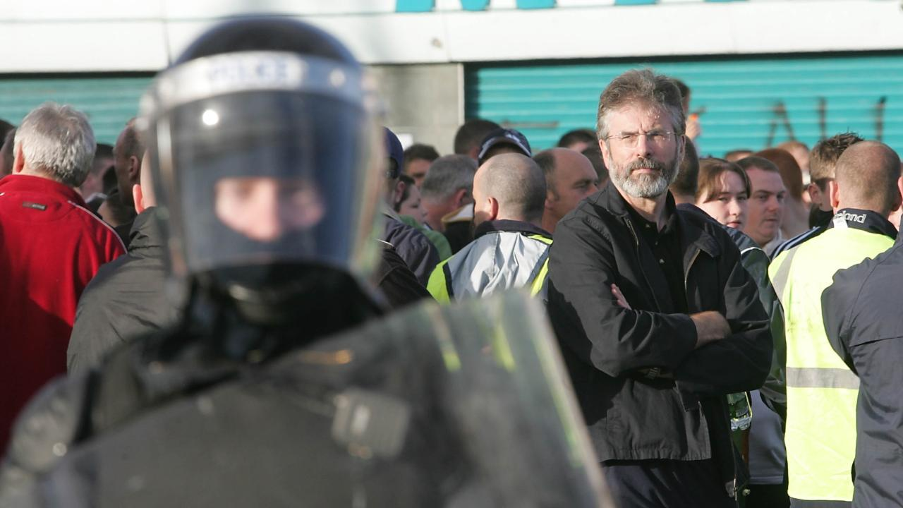 Gerry Adams: From war to peace