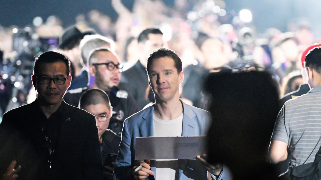 Benedict Cumberbatch on the challenges of keeping films spoiler free