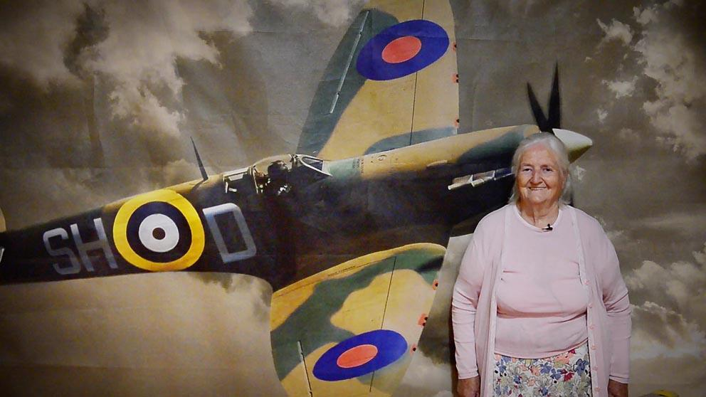 How a crashed RAF Spitfire captivated Monaghan during WW2