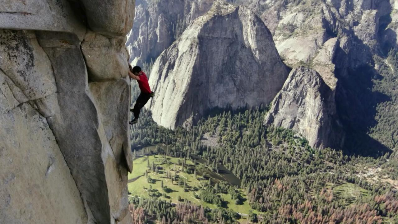Free Solo One Little Slip And You Fall And Die