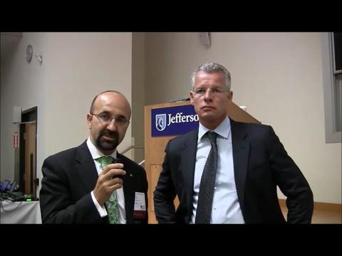 Javad Parvizi, MD, FRCS and Thorsten Gehrke, MD share impressions on PJI consensus meeting