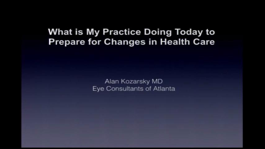 Practice pearls for thriving in the changing health care scenario