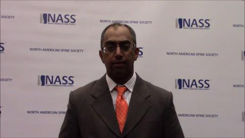 VIDEO: Sharan speaks about the goals of Value 2.0 for the delivery of spine care