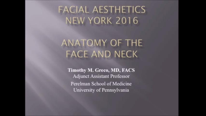 VIDEO: Optimal placement of fillers dependent on anatomical layers of face, neck