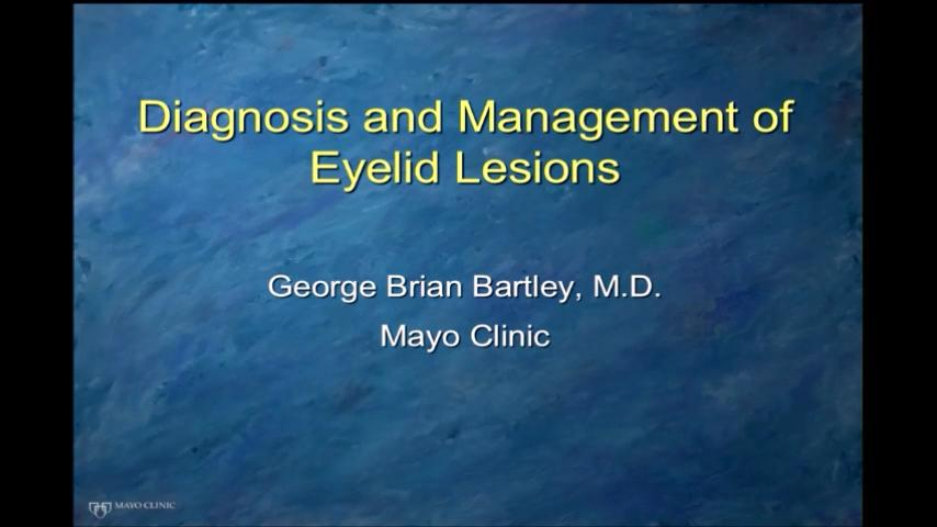 VIDEO: Diagnosis and management of eyelid lesions