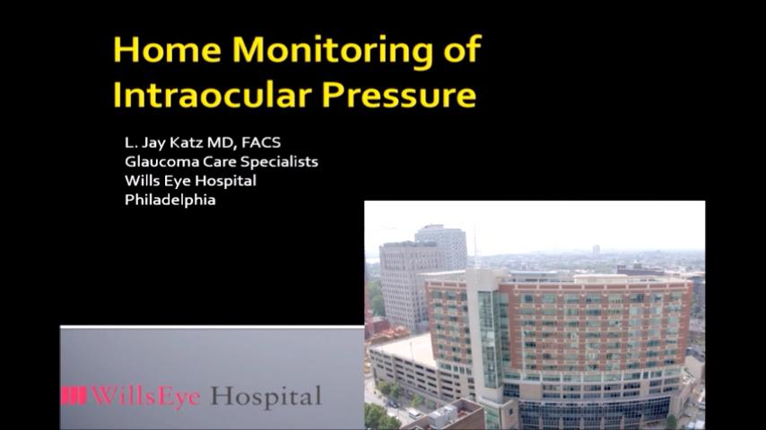 VIDEO: Home monitoring of intraocular pressure