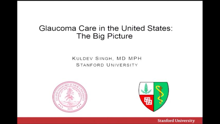 VIDEO: Glaucoma care in the United States: The big picture