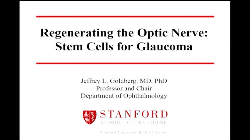 VIDEO: Stem cells for glaucoma