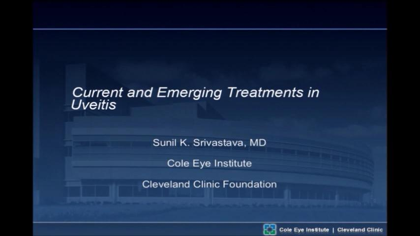 VIDEO: Current and future treatment strategies in the management of posterior uveitis