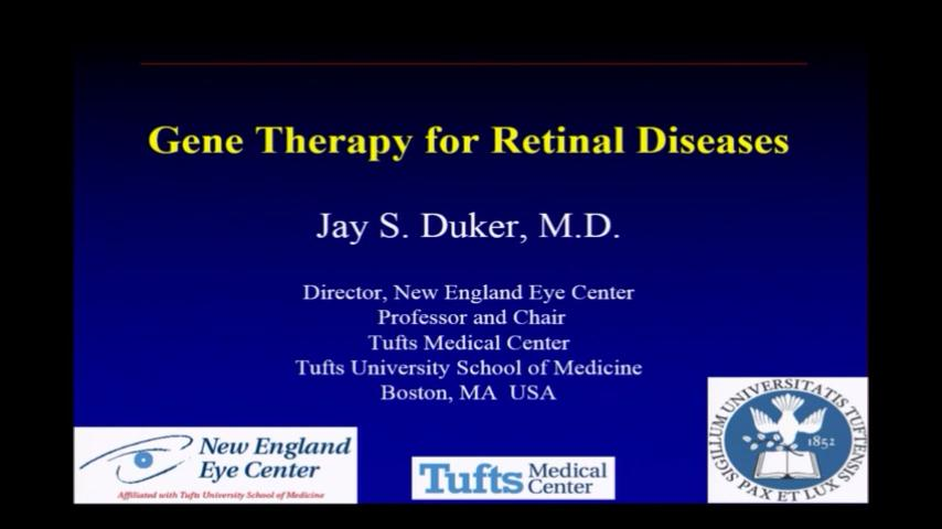 VIDEO: Gene therapy for retinal diseases