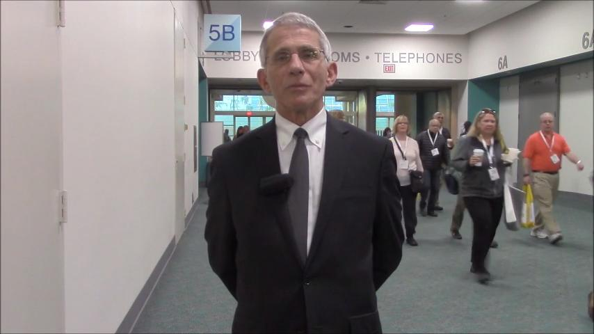 VIDEO: Anthony Fauci, MD, discusses progress with malaria vaccine