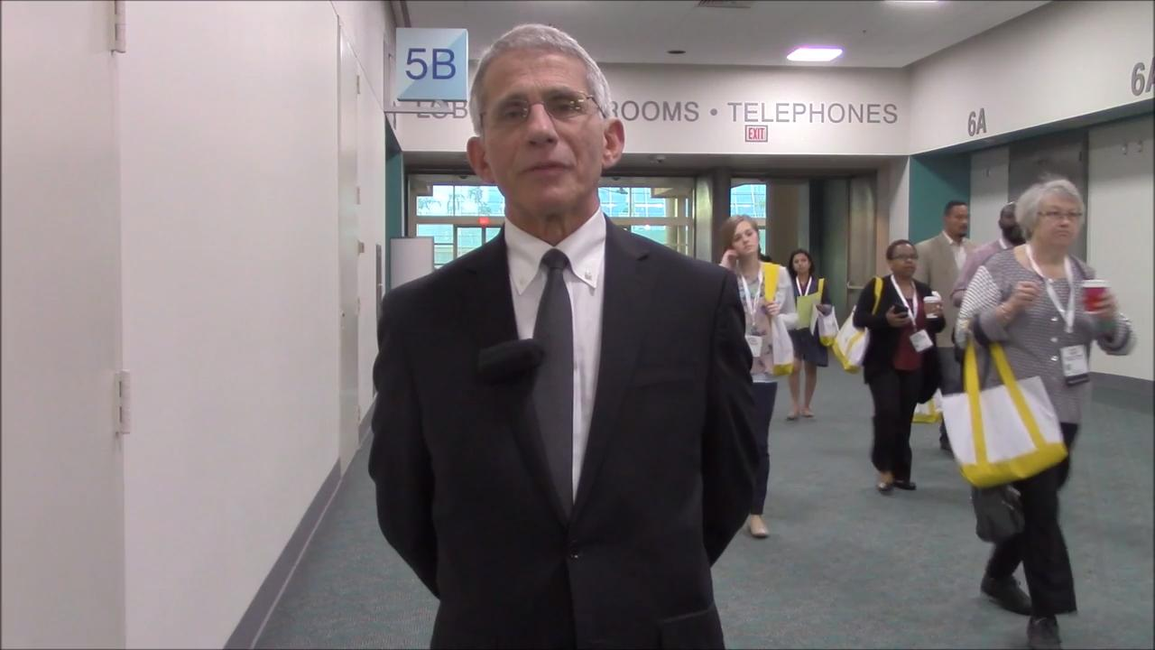 VIDEO: Anthony S. Fauci, MD, discusses significant advances in HIV/AIDS epidemic