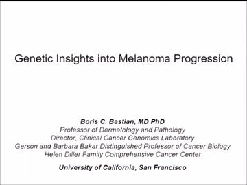 VIDEO: Molecular alterations may identify intermediate stages of melanoma progression