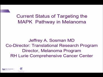 VIDEO: Speaker discusses targeted treatment for melanoma