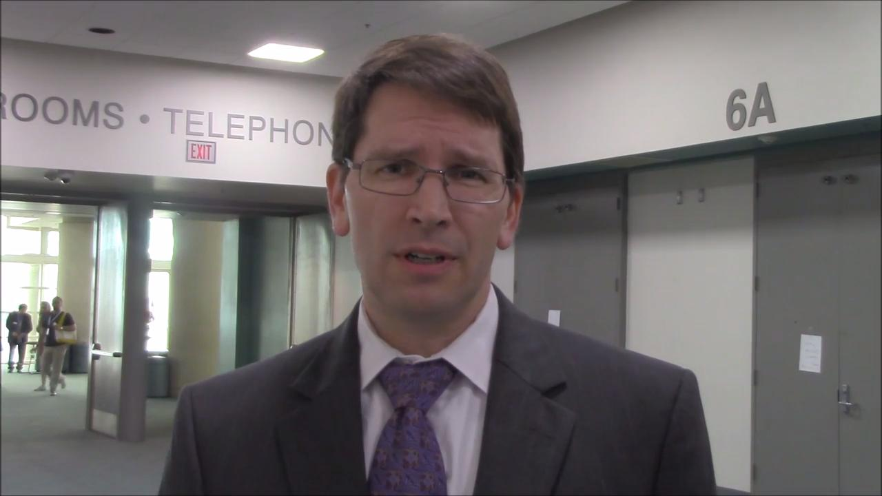 VIDEO: Pembrolizumab improves overall survival in nonsmall cell lung cancer