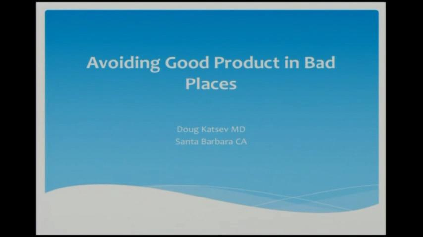 Video: Avoiding good product in bad places