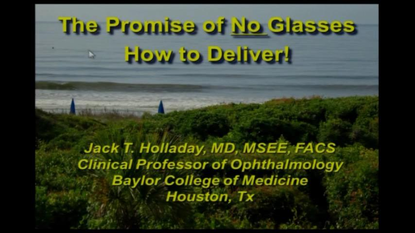 VIDEO: The promise of no glasses: How to deliver