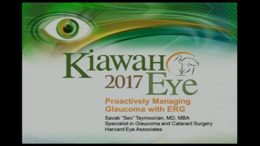 VIDEO: Proactively managing glaucoma with ERG