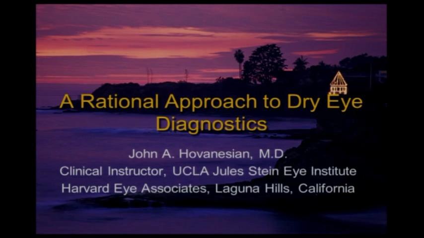 VIDEO: A practical approach to dry eye diagnositics