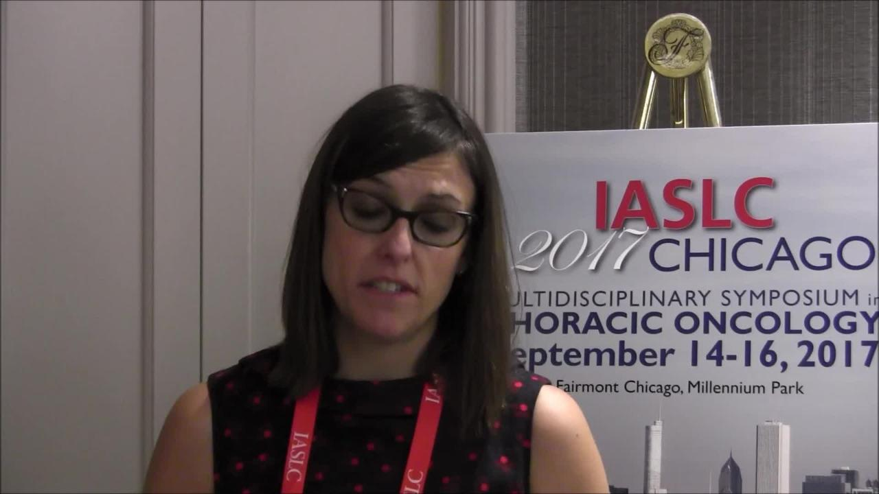VIDEO: Additional treatment with ALK inhibitor after progression shows promise in non-small cell lung cancer