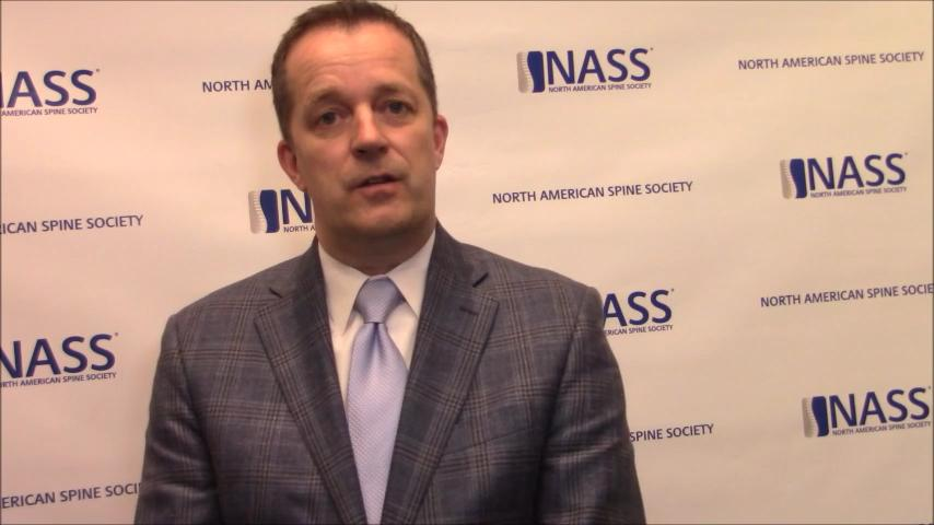 VIDEO: Physicians should recommend rehabilitation to improve patients' physical capacity after lumbar stenosis decompression
