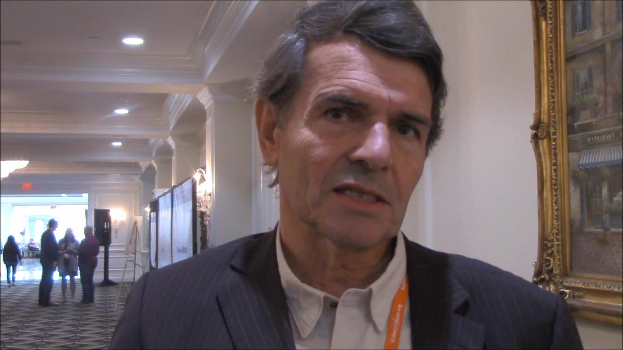 VIDEO: Stereotactic radiotherapy preferred for brain metastases from renal cell carcinoma