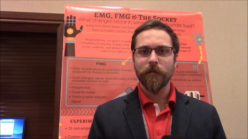 VIDEO: Hartford Hand project to test FMG-, EMG-controlled devices for potential failures