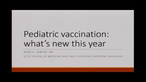 VIDEO: Pediatric vaccine updates discussed at IDC New York