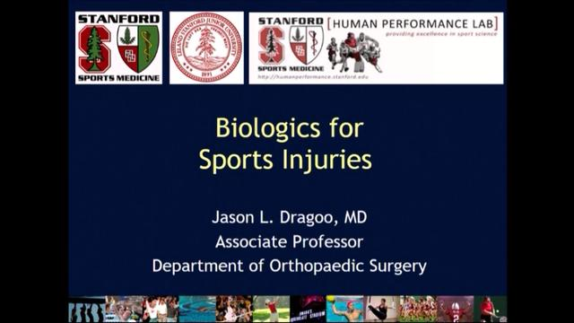 VIDEO: Presenter discusses biologics used in sports injuries
