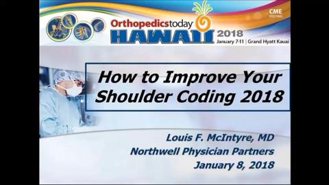 VIDEO: Presenters provide pearls for shoulder coding