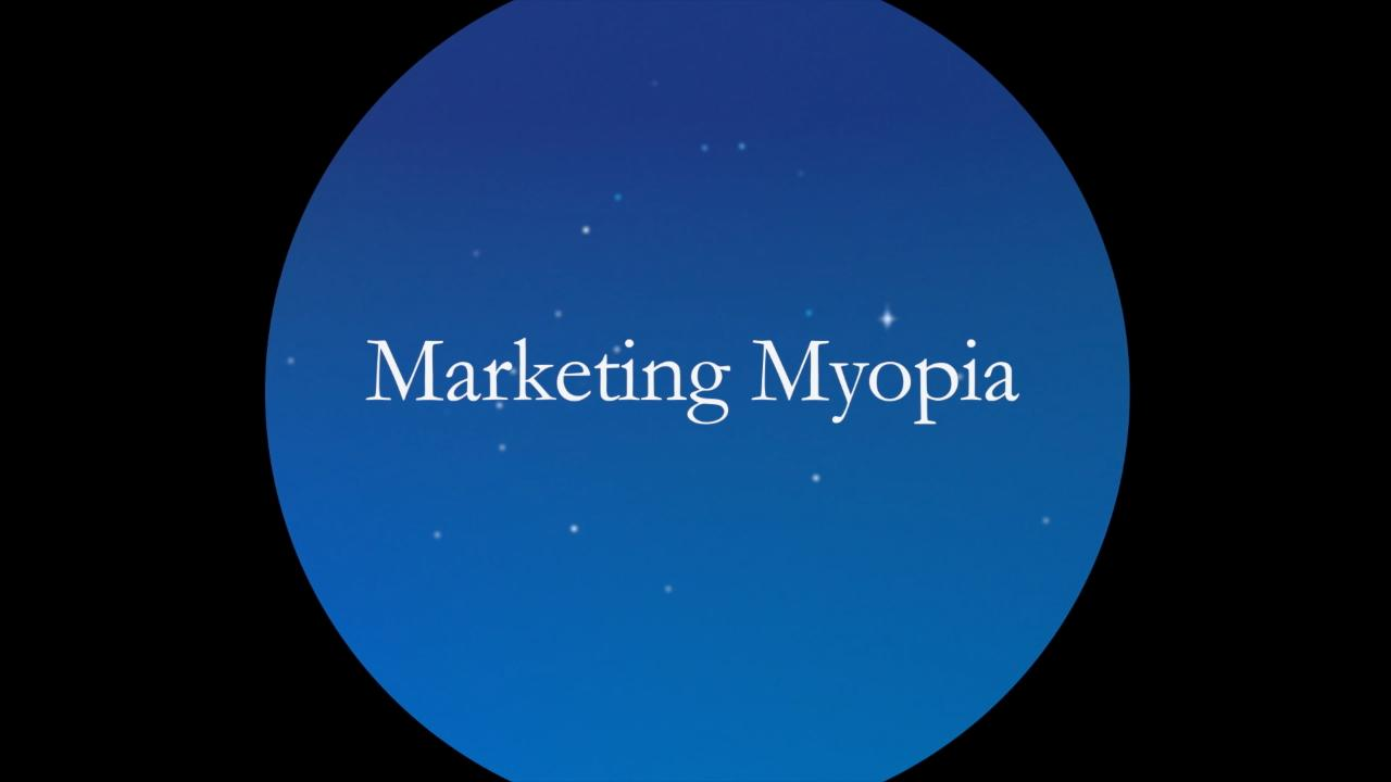 marketing myopia levitt summary